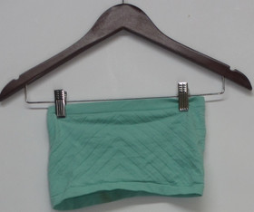 Bar III Sz S Solids Bra Wrap Green Womens