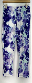 Slimming Options for Kate & Mallory Leggings S  Ankle Snaps Purple A434323