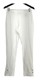 Slimming Options for Kate & Mallory Leggings M Stretch Knit White A434323