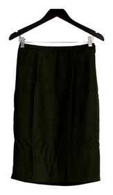 Linea By Louis Dell' Olio Skirt Sz XS Pencil Style Back Zippered Green