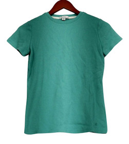Isaac Mizrahi Live! T-Shirt Top XXS Essentials Crew Neck Blue A21020