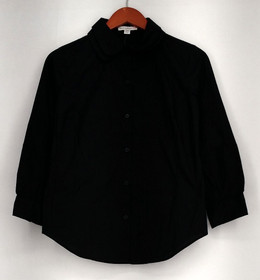 Isaac Mixrah Live Top Sz XXS Button Down Long Sleeve Shirt Black