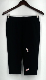 Slimming Options Leggings Sz M Stretch Knit Capri Length Black