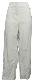 Charter Club Plus Size Pants 24W Zip Fly Ankle Ankle Length White Womens