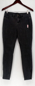 G.I.L.I Jeans Sz 0 Ankle Zip Front Zip Skinny Leg Pocketed Gray A306156