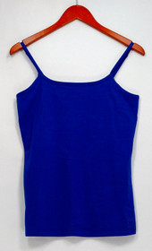 Liz Claiborne Camisole XS New York Essentials Scoop Neck Camisole Blue A264114