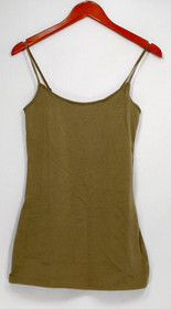 G.I.L.I. got it love it Camisole Sz XXS Adjustable Straps Green Layering A263312