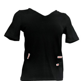Wicked by Woman with Control Women's Top Sz XXS Essentials Black A306793