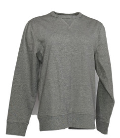 Banana Republic Women's Sweater Sz M Long Sleeve Crew Neck Heather Gray
