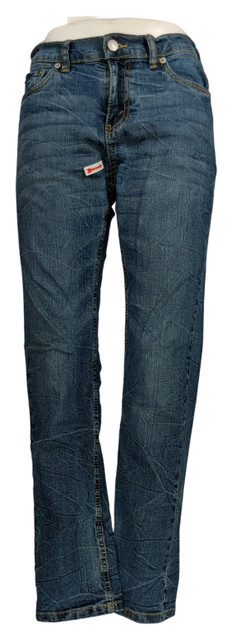 Levi's 502 Taper-Fit Jeans In Regular Washed Up Sz 14 Blue