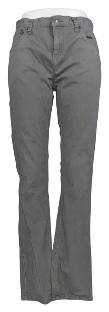 Levi's Sz 18 511 Sueded Twill Pants Cotton 5 Pockets Gray