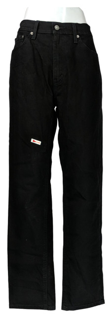 Levi's Men's 541 Jeans Sz 34x34 Relaxed Fit Tapered Leg 5-Pocket Black