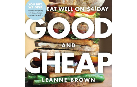 Good and Cheap: Eat Well on $4/Day Leeann Brown Cookbook
