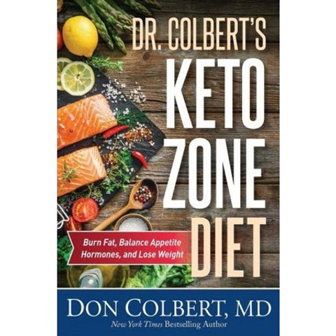 Dr. Colbert's Keto Zone Diet by Dr. Colbert MD Hardcover