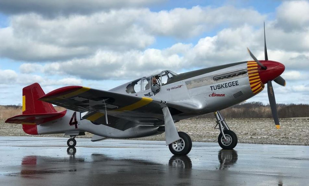 P 51c Mustang Tuskegee Airmen Decorative Vinyl Decal Available By Clicking Link In Description Below