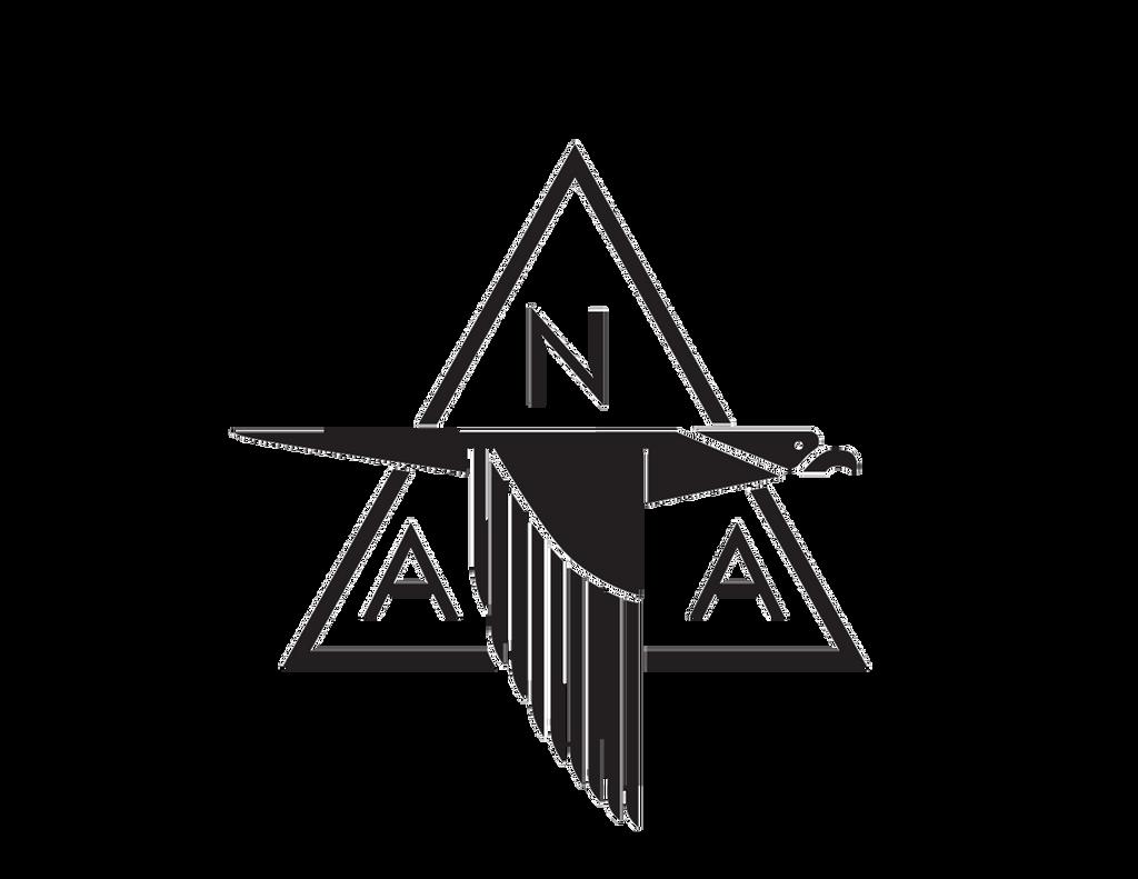 North American Aviation Die Cut Logo Decal