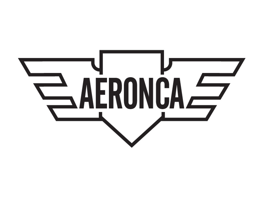 Aeronca Die Cut Logo Decal