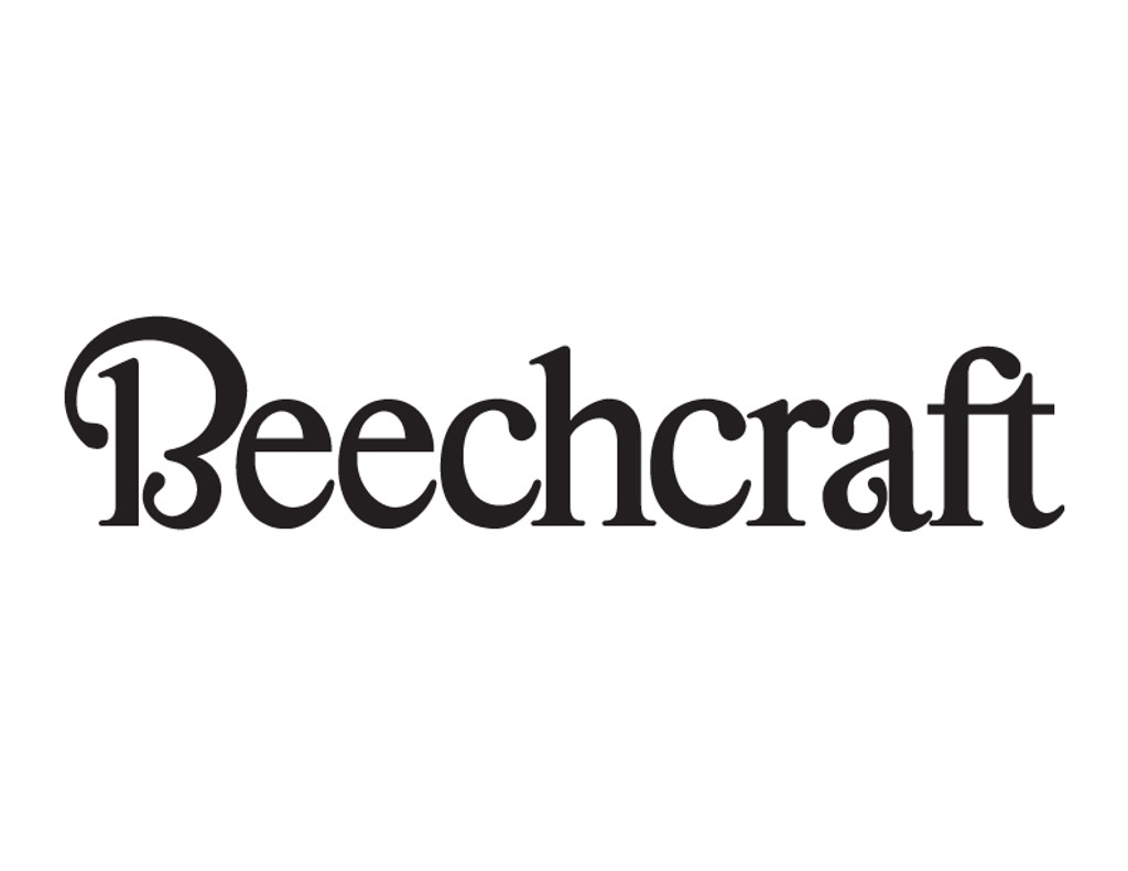 Beechcraft Die Cut Logo Decal