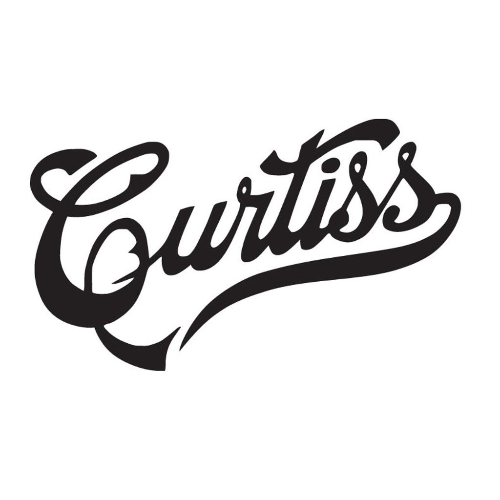 Curtiss Aircraft Die Cut Logo Decal