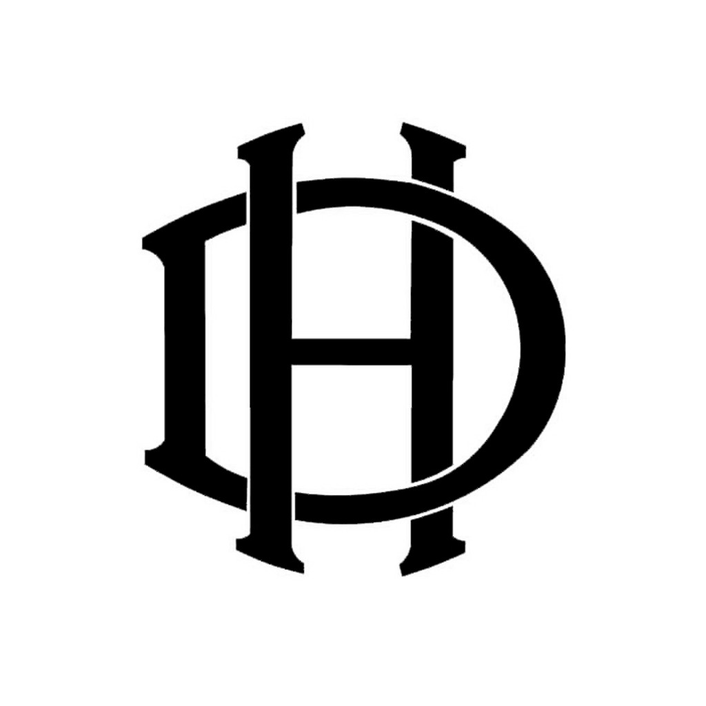 de Havland Aircraft Die Cut Logo Decal