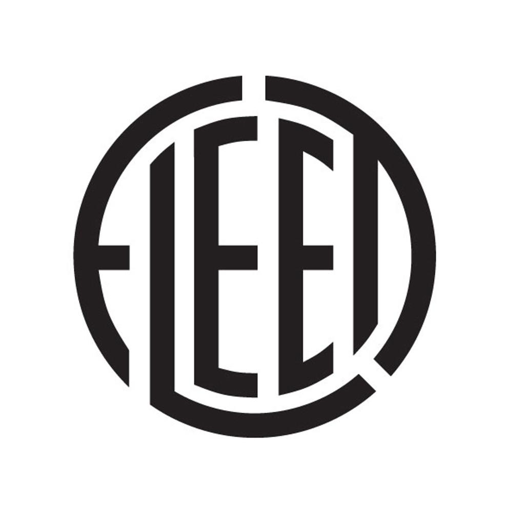 Fleet Aircraft Die Cut Logo Decal
