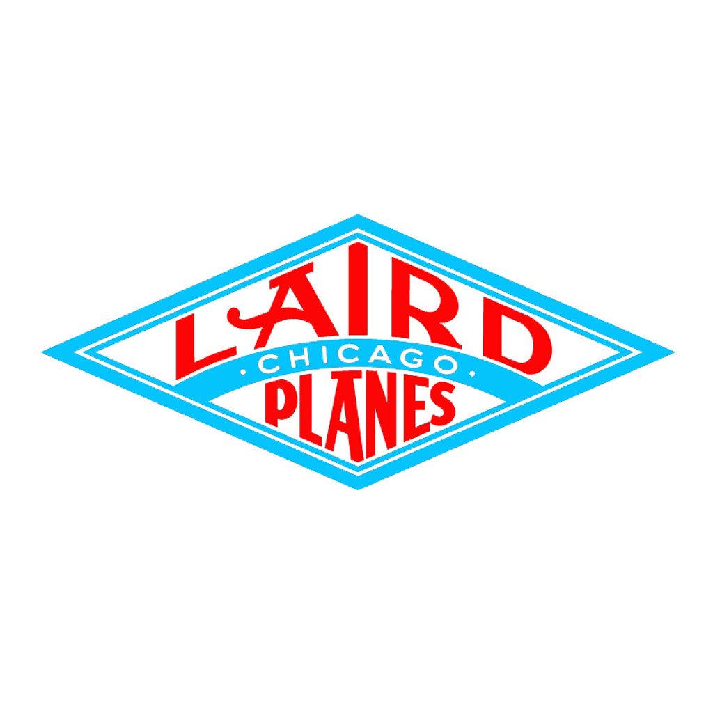 Laird Planes Die Cut Logo Decal