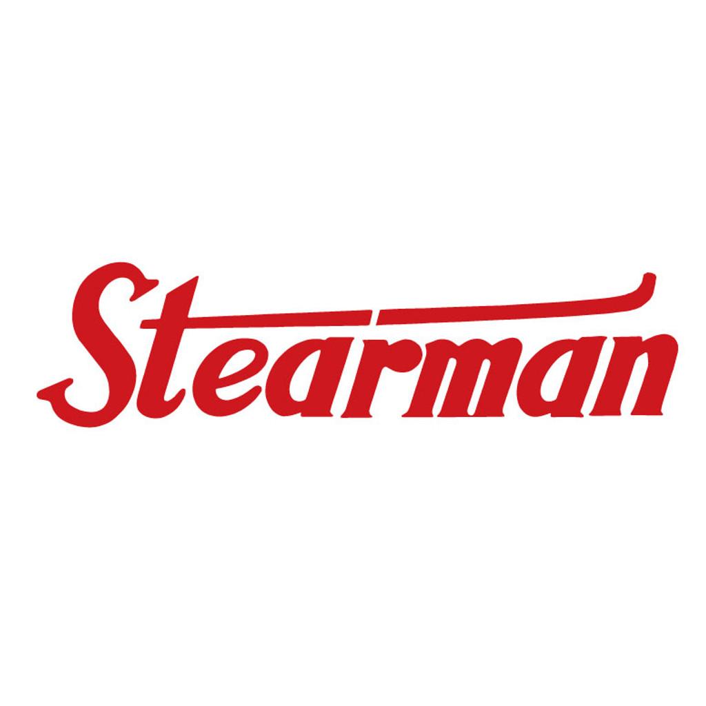 Stearman Aircraft Die Cut Logo Decal