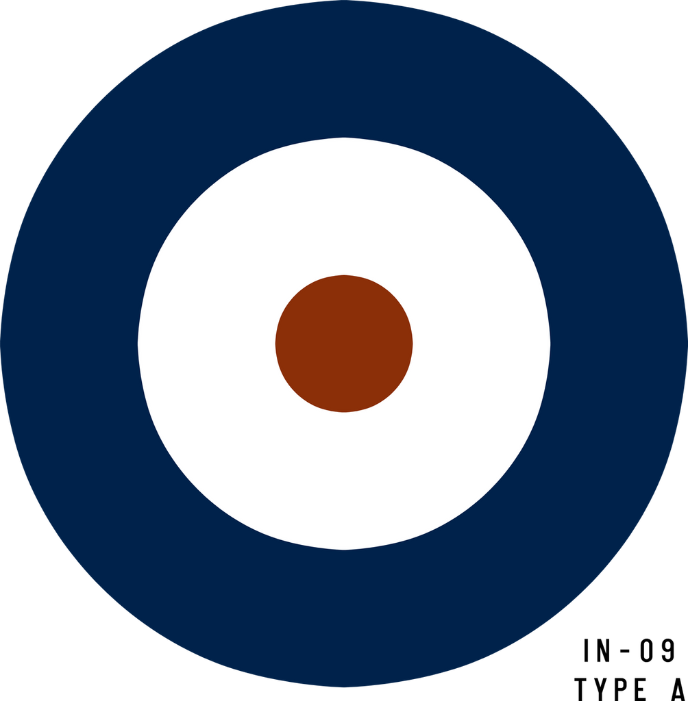 RAF Type A Roundel - Decal or Paint Mask