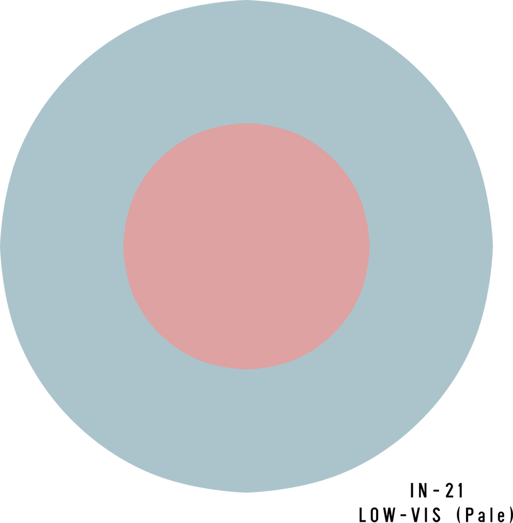 RAF Low-Visibility (Pale) Roundel - Decal or Paint Mask