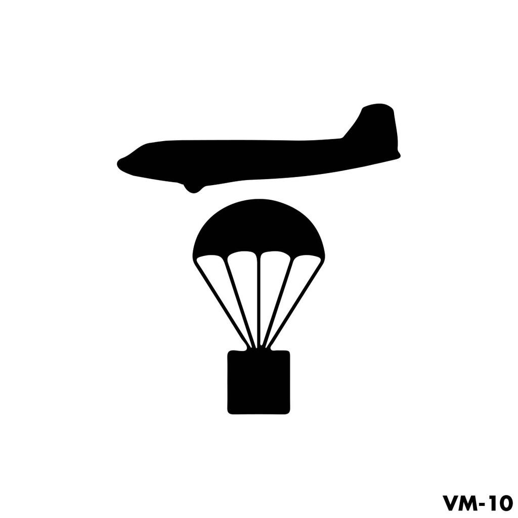 Airborne Paratroop Drop Mission Marking