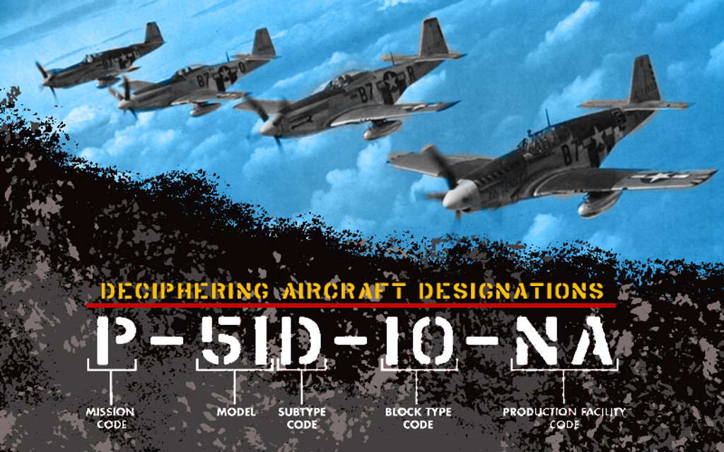 ​What's in a name? Deciphering Aircraft Designations