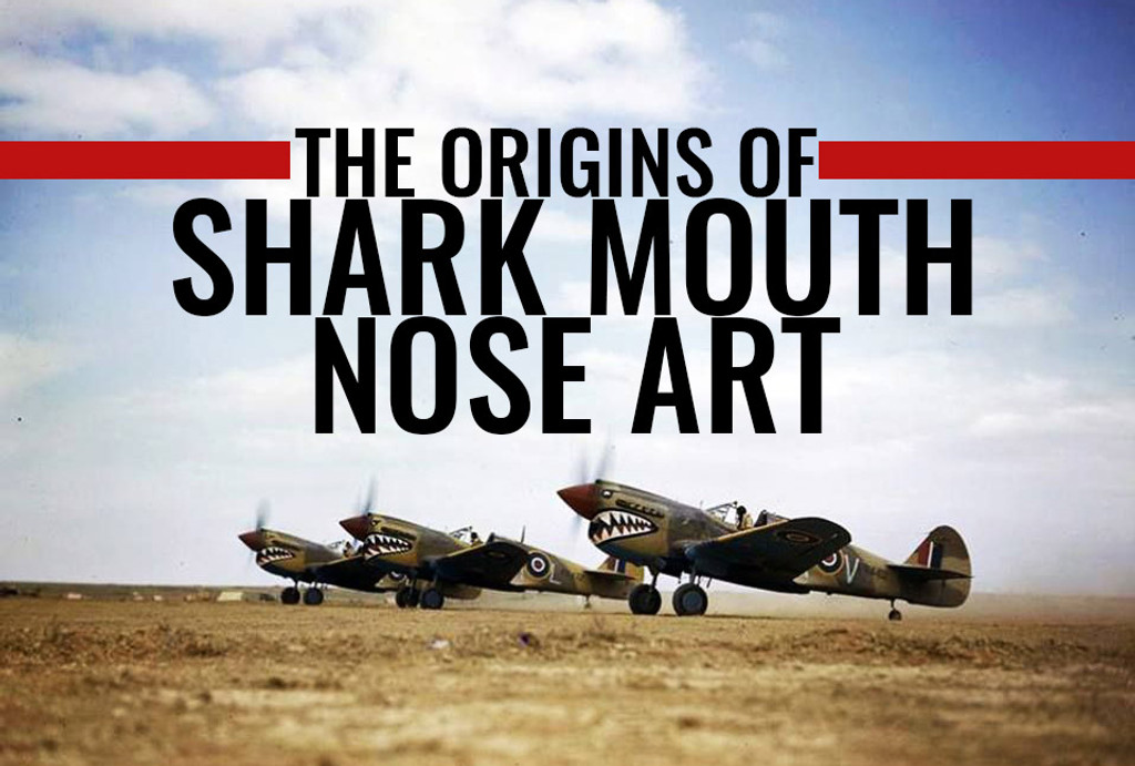 ​The Origins of Shark Mouth Nose Art
