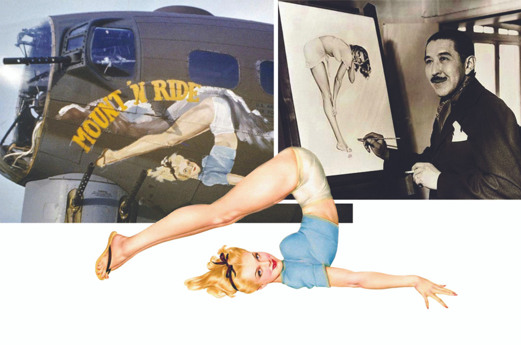The Artist who Influenced WWII Military Aircraft Pin-Up Nose Art