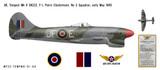 Hawker Tempest Mk V Decorative Military Aircraft Profile