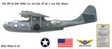 PBY-5A Catalina Decorative Military Aircraft Profile