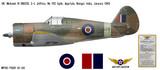 Mohawk IV Decorative Military Aircraft Profile