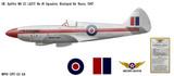 Spitfire Mk 21 Decorative Military Aircraft Profile