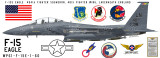 F-15 Eagle 494th Fighter Squadron -  Military Aircraft Profile