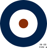 RAF Type A Military Aircraft Roundel Insignia