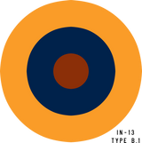 RAF Type B.1 Military Aircraft Roundel Insignia