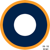 RAF SEAC Military Aircraft Roundel Insignia