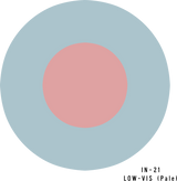 RAF Low-Visibility (Pale) Military Aircraft Roundel Insignia