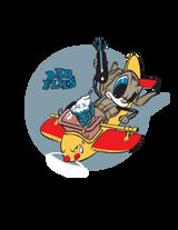 "73rd Bombardment Squadron ""Bar Flies"" US Air Force Historic WWII Military Insignia Emblem Logo Vinyl Window Sticker Decal"