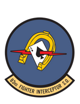 83rd Fighter Interceptor Squadron US Air Force Historic WWII Military Insignia Emblem Logo Vinyl Window Sticker Decal