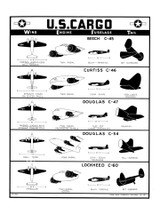 U.S. Cargo - WWII Military Aircraft Identification Poster