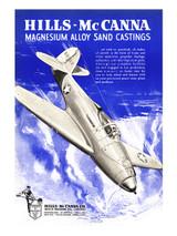 """Air Cobra"" Vintage Military Aviation Poster"