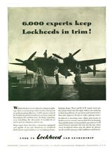 "P-38 Lockheed Lightning ""6000 Experts"" Vintage Military Aircraft Airplane Poster Mockup Art Display"