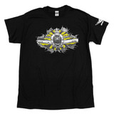 T-BOLT! P-47 Aircorps Shop Shirt - Black