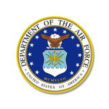 U.S. Dept. of The Air Force Force Sticker