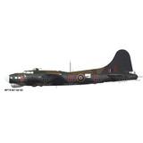 Boeing B-17 Flying Fortress RAF Aircraft Profile Print Wall Art Decal